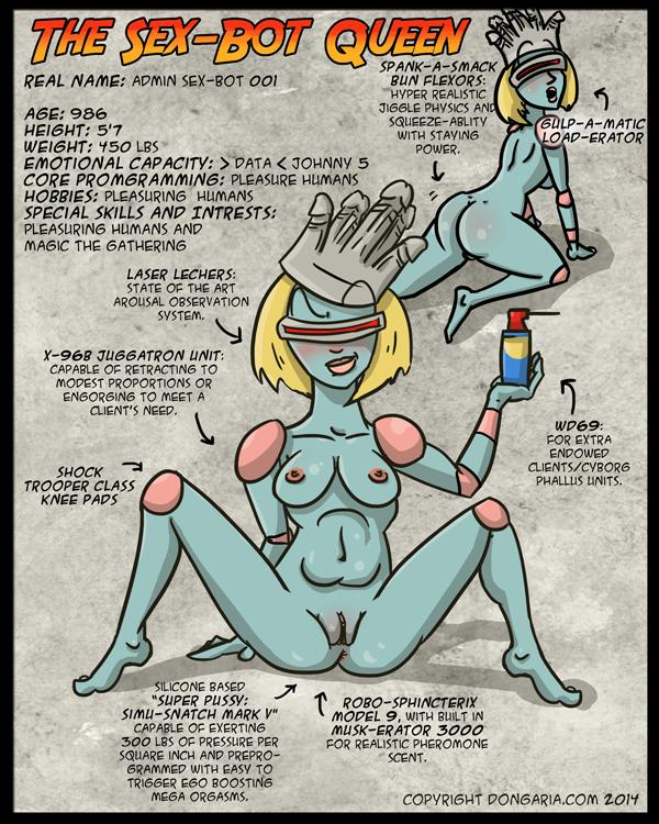 Character Sheet Sex-Bot Queen