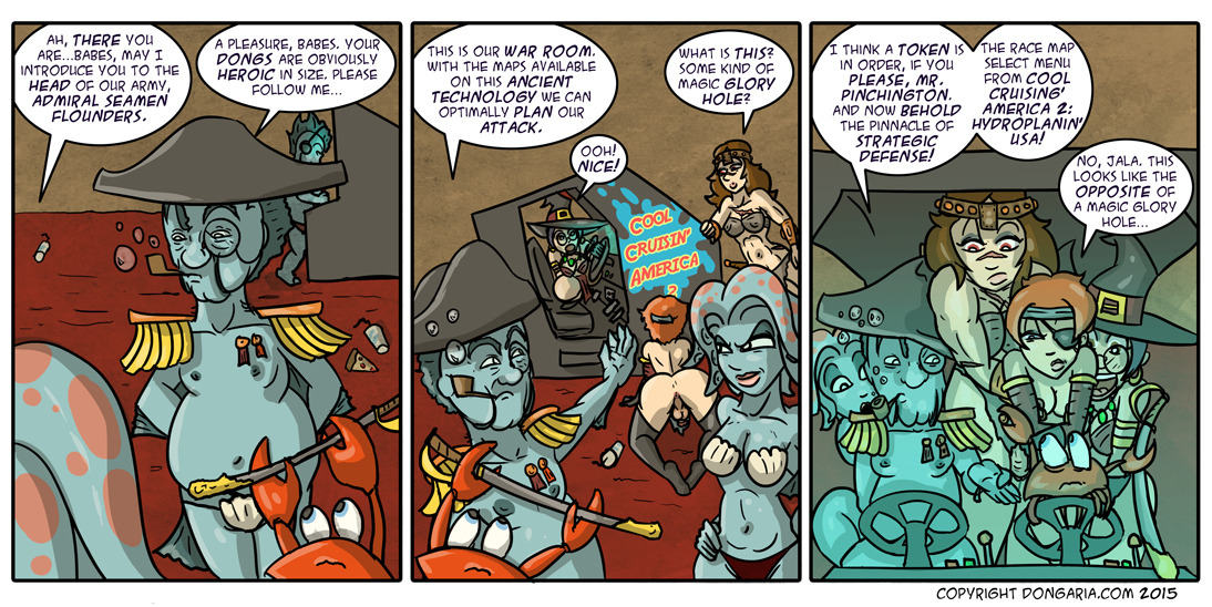 Babes of Dongaria Chapter 2 Page 10: The War Room