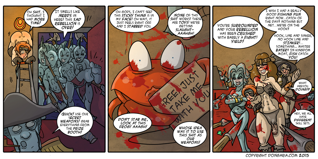 Babes of Dongaria Chapter 2 Page 12: Like Lambs To The Place They Kill Lambs